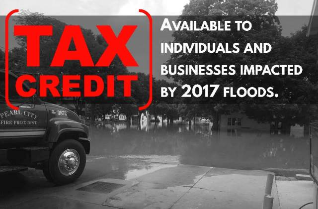 Tax Credit for 2017 Flood Victims